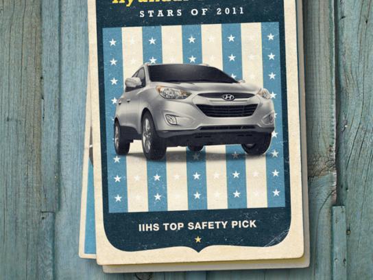 Hyundai Print Ad -  Tucson Card