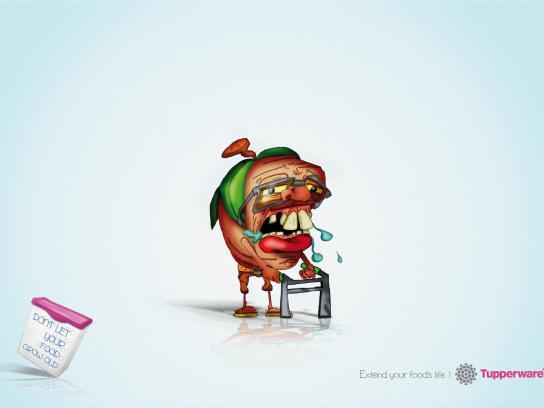 Tupperware Print Ad -  Tomato