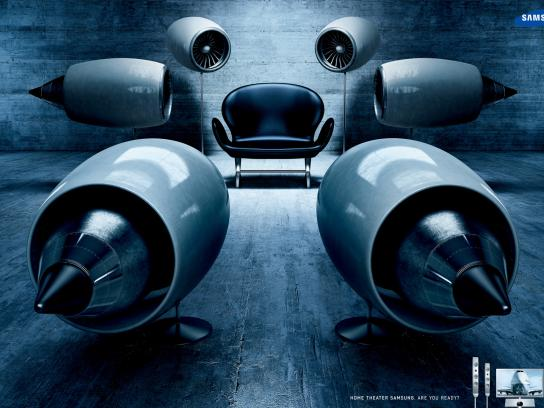 Samsung Print Ad -  Turbines