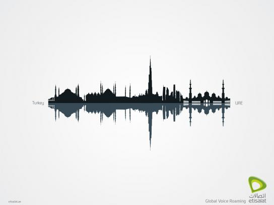 Etisalat Print Ad -  Global Voice Roaming, Turkey