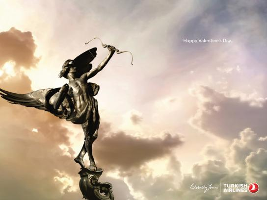 Turkish Airlines Print Ad -  Statue