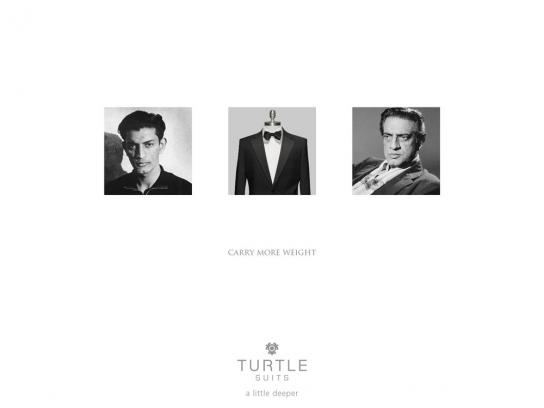 Turtle Print Ad -  Carry more weight, 1