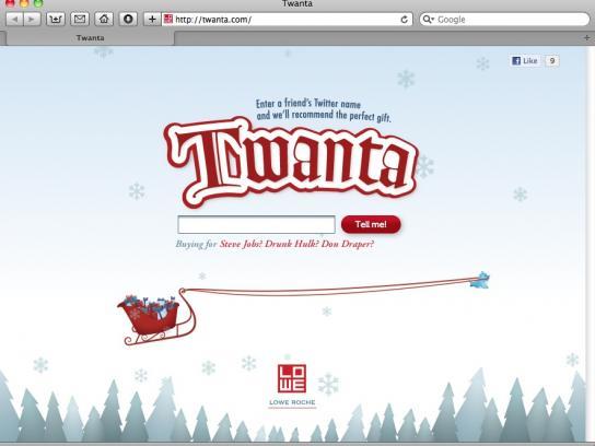 Lowe Digital Ad -  Twanta.com