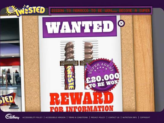 Cadbury Digital Ad -  Online