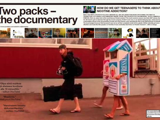 Syöpäjärjestöt Film Ad -  Two pack