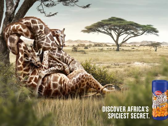 Ültje Print Ad -  Giraffes