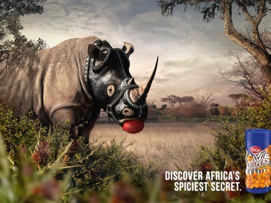 Ültje Print Ad -  Rhino