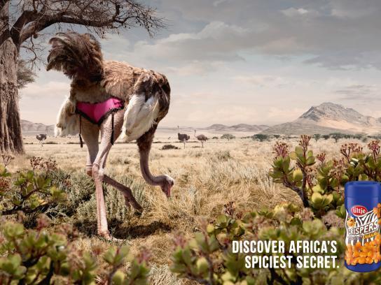 Ültje Print Ad -  Ostrich