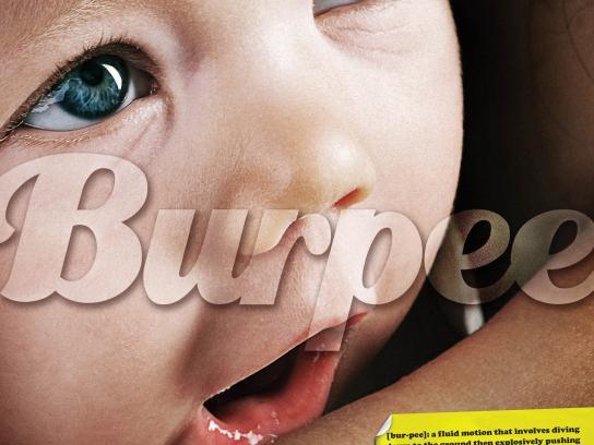 Underground Fitness Print Ad -  Burpee