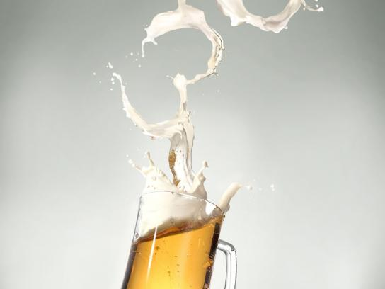 Utah Department of Highway Safety Print Ad -  Alcohol Cuffs, Beer
