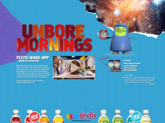 Festis Digital Ad -  Unbore mornings