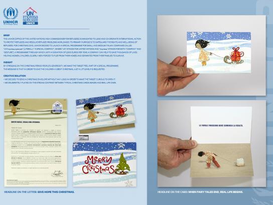 UNHCR Print Ad -  Card