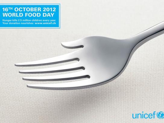 Unicef Print Ad -  World Food Day
