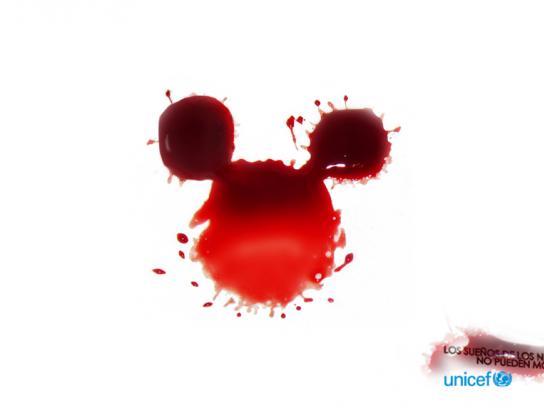 Unicef Print Ad -  Mickey
