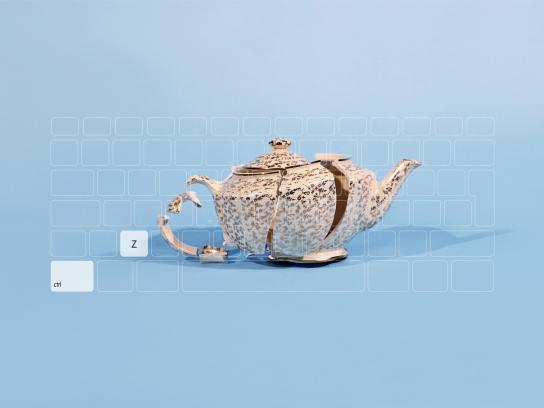 Ramasil Unigota Print Ad -  Teapot