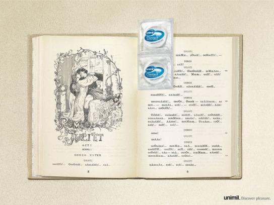Unimil Print Ad -  Romeo and Juliet