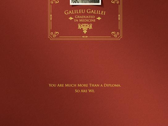 UniRitter University Print Ad -  Galileu