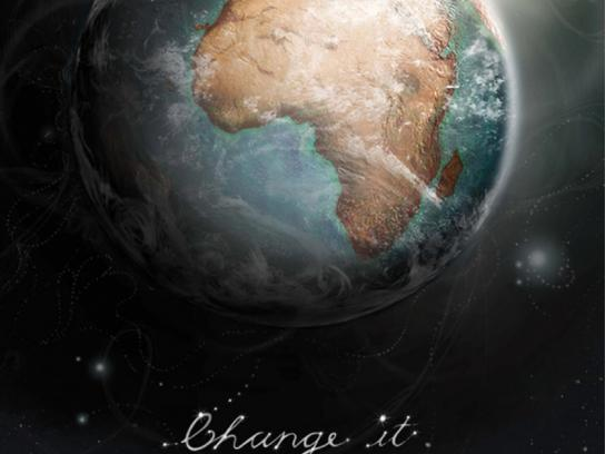 University of Johannesburg Print Ad -  Change it