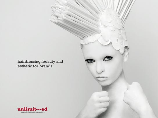 Unlimited Creative Group Print Ad -  Girl, 1