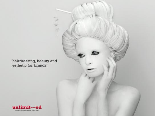 Unlimited Creative Group Print Ad -  Girl, 2