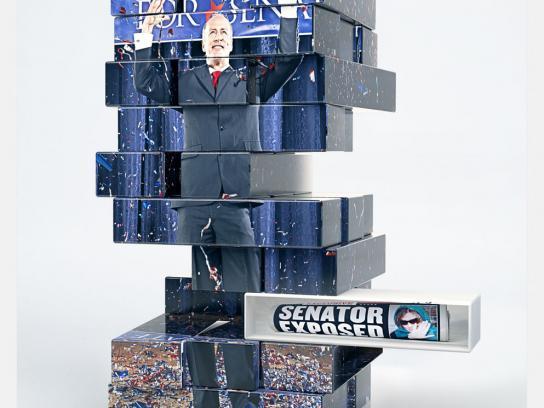 Uno Stacko Print Ad -  Senator