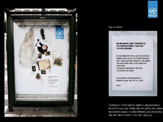 United Nations Outdoor Ad -  Remains