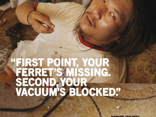 Unwired Print Ad -  Vacuum
