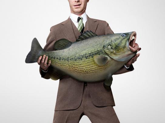 Upex Print Ad -  Fish, 1
