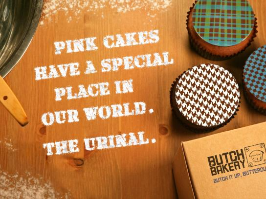 Butch Print Ad -  Urinal