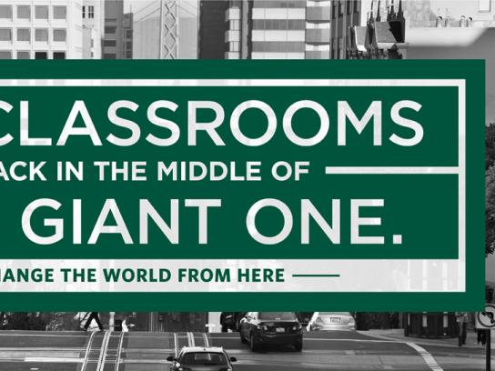University of San Francisco Print Ad -  Classroom