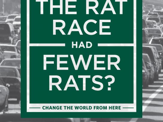 University of San Francisco Outdoor Ad -  Rat Race