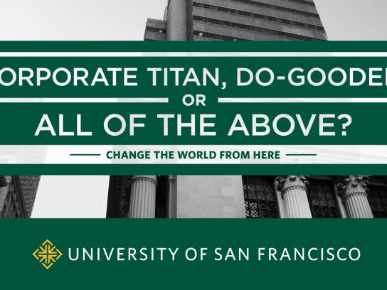 University of San Francisco Print Ad -  Titan