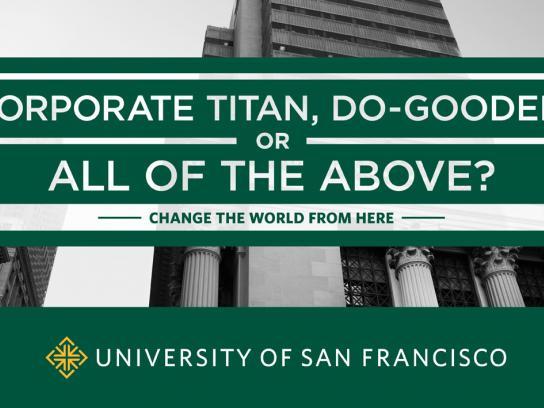 University of San Francisco Print Ad -  Titan