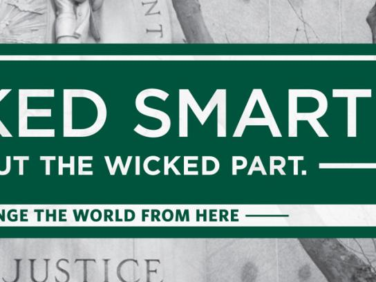 University of San Francisco Outdoor Ad -  Wicked smart