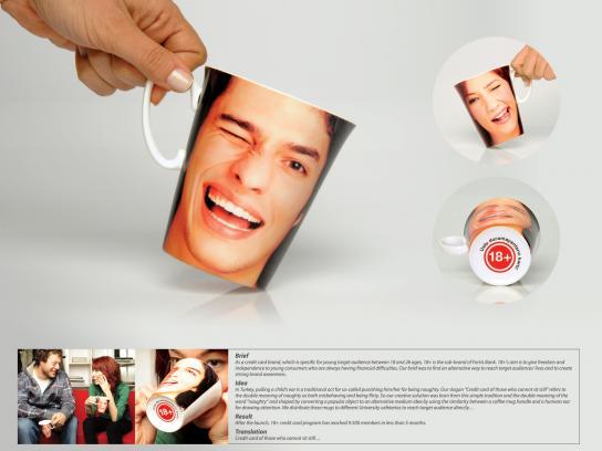 Fortis Direct Ad -  18+ mug