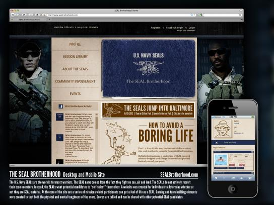 U.S. Navy Digital Ad -  Brotherhood Microsite