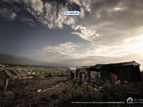 Un Techo Para Mi País Print Ad -  Haiti