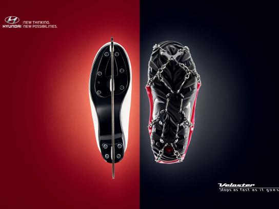 Hyundai Print Ad -  Skate Crampon