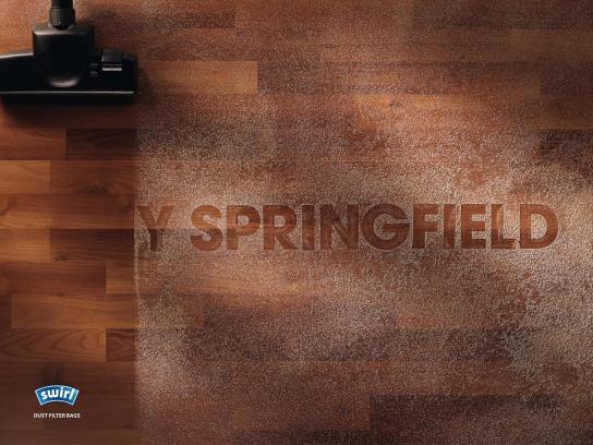 Swirl Print Ad -  Springfield