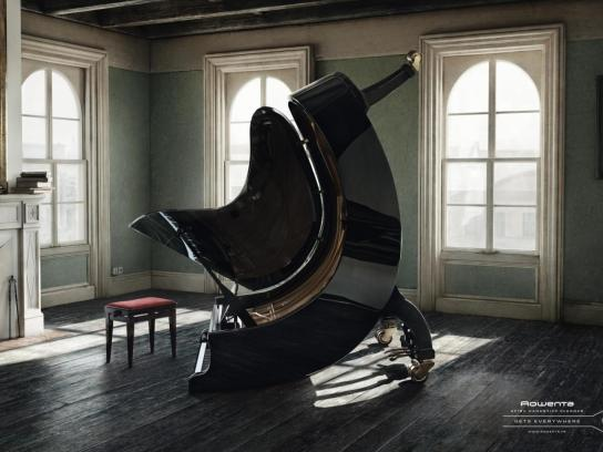 Rowenta Print Ad -  Piano