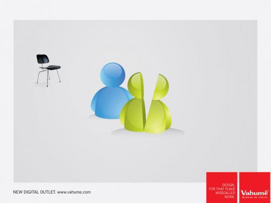 Vahume Print Ad -  Design, 2