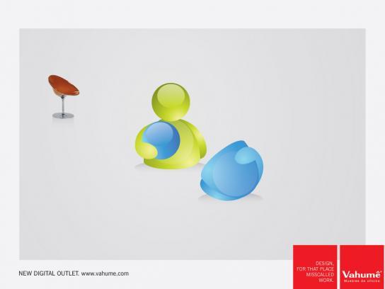 Vahume Print Ad -  Design, 1