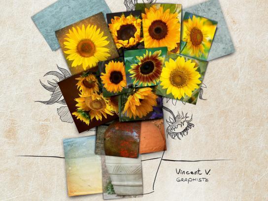 Shutterstock Print Ad -  Van Gogh