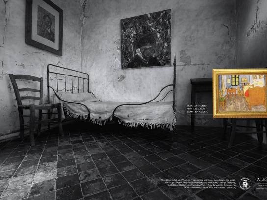 Alerj Print Ad -  Great art comes from the least expected places