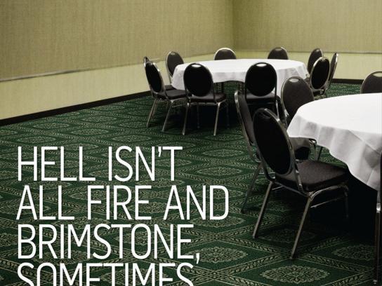 Vancouver Convention Centre Print Ad -  Carpet