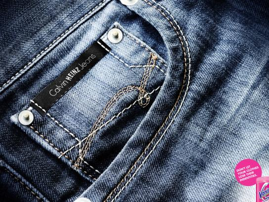 Vanish Print Ad -  Jeans