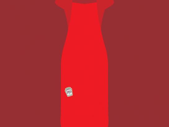 Vanish Print Ad -  Ketchup