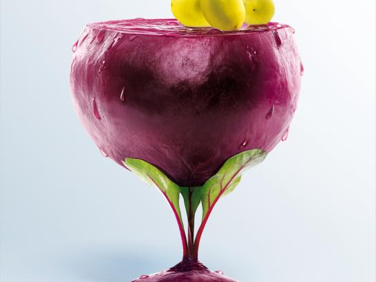 Pierre Martinet Print Ad -  Vegetable smoothie, Beetroot