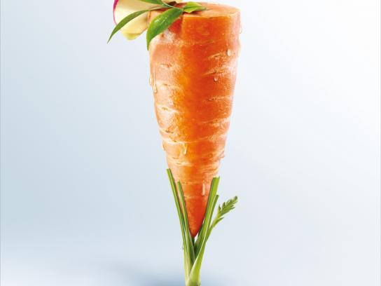 Pierre Martinet Print Ad -  Vegetable smoothie, Carrot