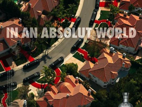 Absolut Print Ad -  Limousine